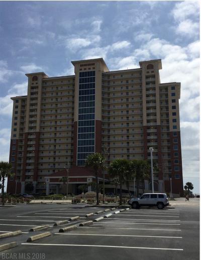 Gulf Shores Condo/Townhouse For Sale: 365 E Beach Blvd #704