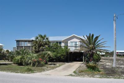 Gulf Shores Single Family Home For Sale: 5905 Beach Blvd