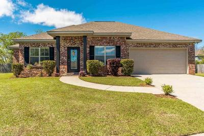 Bon Secour, Daphne, Fairhope, Foley, Magnolia Springs Single Family Home For Sale: 9375 Sable Court