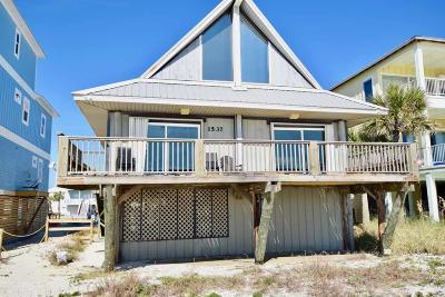 Gulf Shores Single Family Home For Sale: 1537 W Beach Blvd