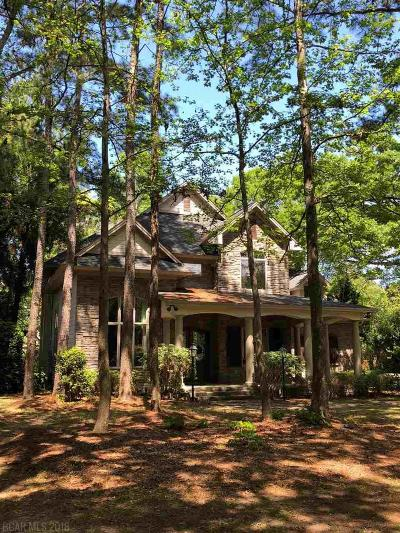 Fairhope Single Family Home For Sale: 23737 2nd Street