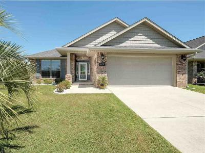 Foley Single Family Home For Sale: 609 Iberville Drive
