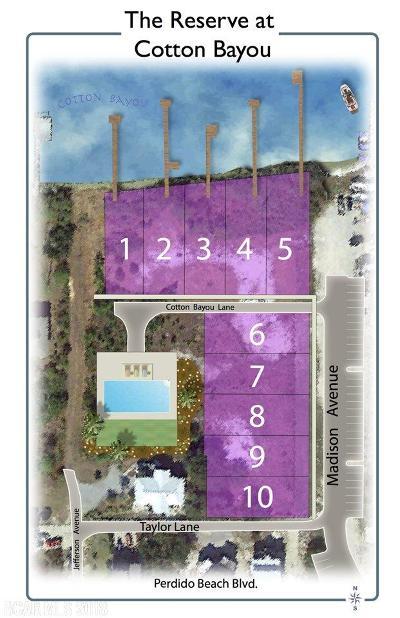 Orange Beach Residential Lots & Land For Sale: 5 Cotton Bayou Ln