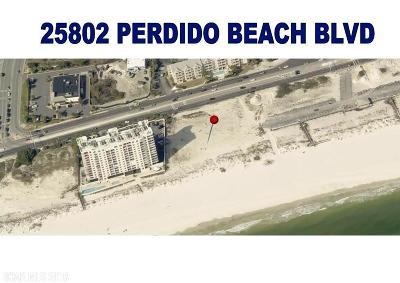 Orange Beach Residential Lots & Land For Sale: 25802 Perdido Beach Blvd
