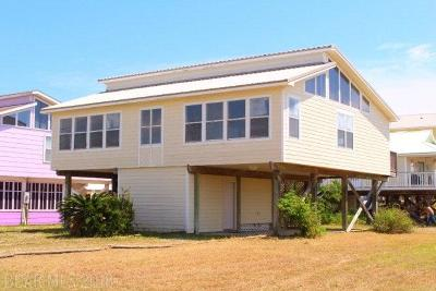 Gulf Shores Single Family Home For Sale: 1293 W Lagoon Avenue