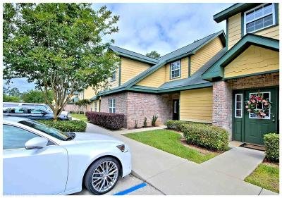 Gulf Shores Condo/Townhouse For Sale: 444 Clubhouse Drive #7B