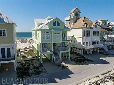 Gulf Shores Single Family Home For Sale: 1402 W Dune Drive