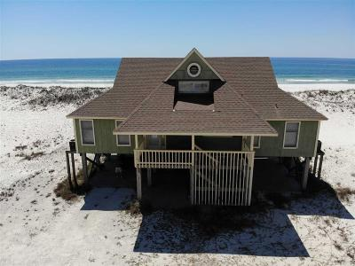 Gulf Shores Single Family Home For Sale: 3133 W Beach Blvd