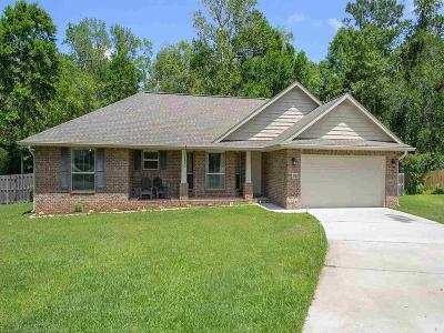 Loxley Single Family Home For Sale: 25489 Seraphim Ct