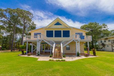 Gulf Shores Single Family Home For Sale: 8707 State Highway 180