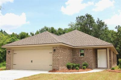 Foley Single Family Home For Sale: 3836 Chesterfield Lane