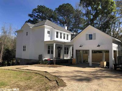 Fairhope Single Family Home For Sale: 311c S School Street