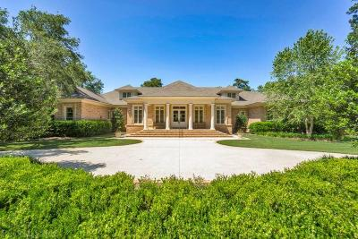 Fairhope Single Family Home For Sale: 6291 Pine Grove Drive
