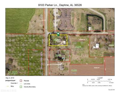 Daphne Residential Lots & Land For Sale: 9301 Parker Lane