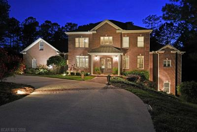 Spanish Fort Single Family Home For Sale: 8676 Tupelo Court