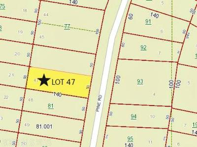 Orange Beach Residential Lots & Land For Sale: Pine Road