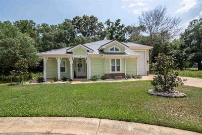Foley Single Family Home For Sale: 12282 Reunion Place