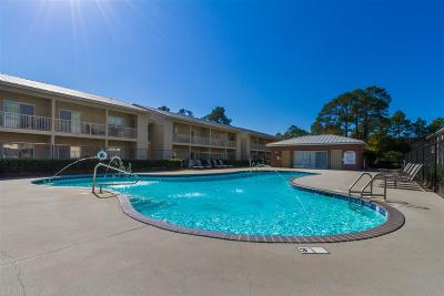 Gulf Shores Condo/Townhouse For Sale: 1701 E 1st Street #309