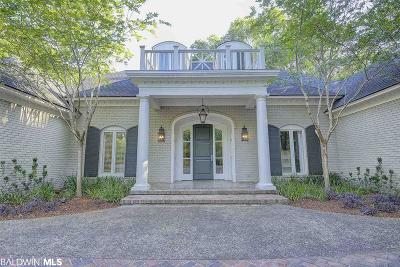 Fairhope Single Family Home For Sale: 6125 Pine Grove Drive