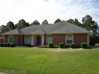 Foley Single Family Home For Sale: 9149 Clubhouse Drive