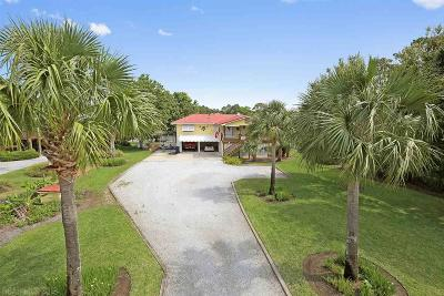 Orange Beach Single Family Home For Sale: 26313 Marina Road