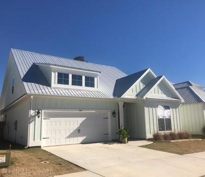 Orange Beach Single Family Home For Sale: 4934 E Cypress Loop