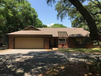 Gulf Shores Single Family Home For Sale: 308 Magnolia Drive