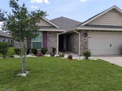 Foley Single Family Home For Sale: 1806 Arcadia Drive