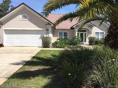 Orange Beach Single Family Home For Sale: 26266 St Lucia Drive