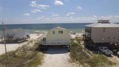 Gulf Shores Single Family Home For Sale: 6934 Beach Shore Drive