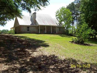 Summerdale Single Family Home For Sale: 15356 County Road 32