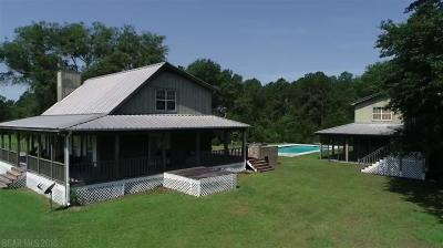 Robertsdale Single Family Home For Sale: 22611 Koier Rd