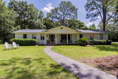 Fairhope Single Family Home For Sale: 595 Hancock Rd