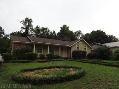 Daphne Single Family Home For Sale: 198 Ridgewood Drive
