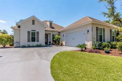 Gulf Shores Single Family Home For Sale: 543 Retreat Lane