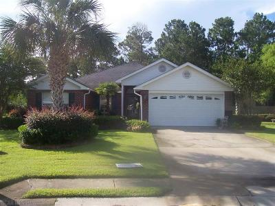 Orange Beach Single Family Home For Sale: 22414 Bobcat Lane