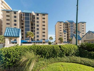 Orange Beach Condo/Townhouse For Sale: 26072 Perdido Beach Blvd #101E