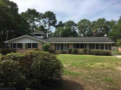 Gulf Shores Single Family Home For Sale: 412 W 23rd Avenue