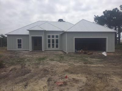 Gulf Shores Single Family Home For Sale: 1232 Pindo Drive