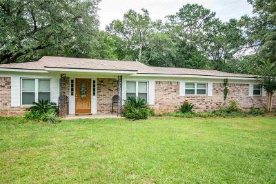 Bon Secour, Daphne, Fairhope, Foley, Magnolia Springs Single Family Home For Sale: 7355 Pinehill Rd