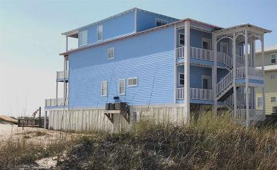 Gulf Shores Single Family Home For Sale: 1273 W Beach Blvd