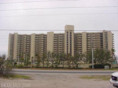 Condo/Townhouse For Sale: 24400 E Perdido Beach Blvd #306