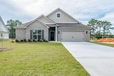 Gulf Shores Single Family Home For Sale: 820 Wedgewood Drive