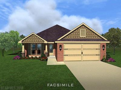 Foley Single Family Home For Sale: 9361 Impala Drive