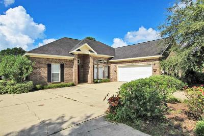 Foley Single Family Home For Sale: 9069 Lakeview Drive