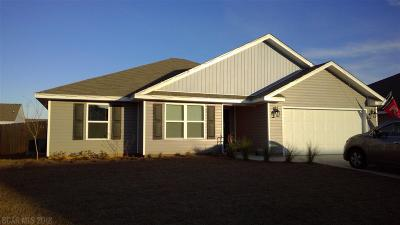 Gulf Shores Single Family Home For Sale: 6875 Crimson Lane