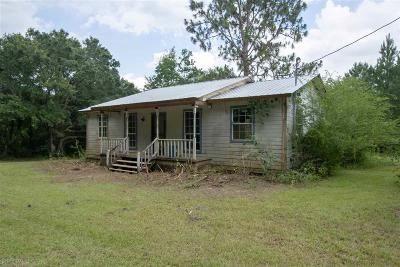 Robertsdale Single Family Home For Sale: 25720 Hannah Road