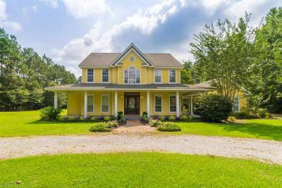 Foley Single Family Home For Sale: 12850 Bender Road