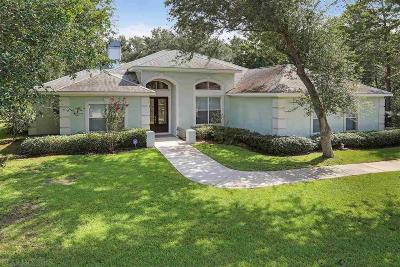 Gulf Shores Single Family Home For Sale: 30 Bayside Court
