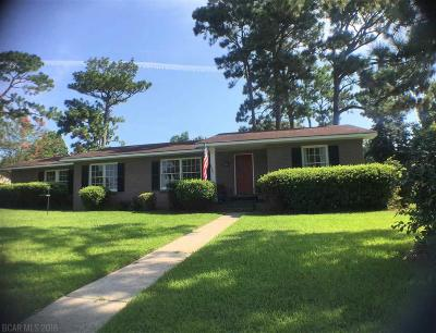 Fairhope Single Family Home For Sale: 555 Jan Drive